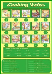 Cooking Verbs (6)