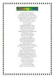 English Worksheet: Greenpeace