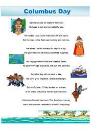 Columbus Day poem