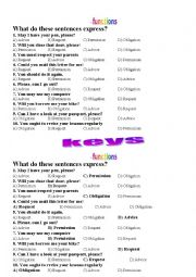 English Worksheet: FUNCTIONS