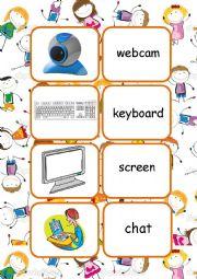 English Worksheet: New Technologies [flashcards]