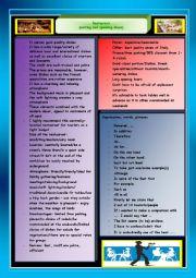 English Worksheet: Restaurant (writing, speaking ideas)