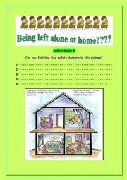 Being left alone at home???( part2)