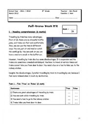 English Worksheet: full term test