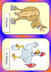 English worksheet: Farm animals 1