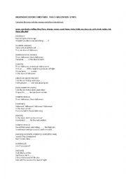 this is halloween lyrics nightmare before christmas - The Nightmare Before Christmas Lyrics