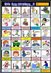 Action verbs Multiple choice