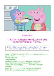 PEPPA PIG - BABY ALEXANDER