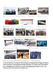 English Worksheet: airport vocabulary
