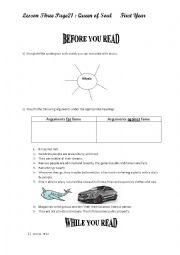 English Worksheet: lesson 3 :Queen of Soul