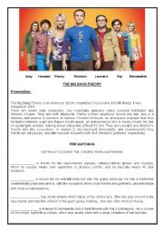 the big bang theory worksheet - The Einstein inspirtion