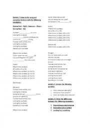 Present Perfect Rihanna Where Have You Been Esl Worksheet By Chapalapachala