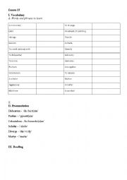 English Worksheet: The History of the English Language