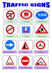 traffic rules and symbols