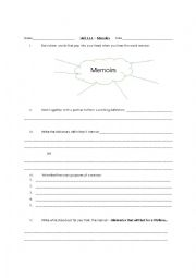 english worksheets introduction to memoirs. Black Bedroom Furniture Sets. Home Design Ideas