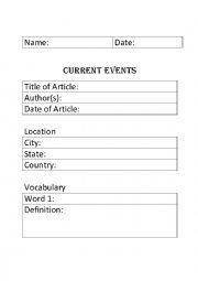 Intrepid image inside current events worksheet printable