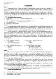 English Worksheet: Frankenstein 2