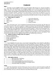 English Worksheet: Frankenstein 3