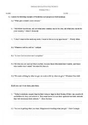Worksheet Parallelism Worksheet english worksheets parallelism task worksheet task