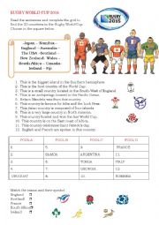 English Worksheet: Rugby World Cup 2015