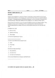 English Worksheet: Adults beginners test