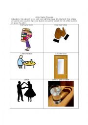English Worksheet: Action Charades