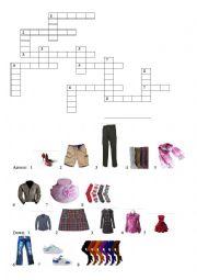 Clothes / crosswords