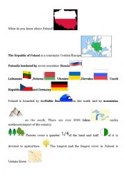 English Worksheet: What do you know about Poland?