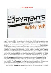 Toeic Reading comprehension The copyrights