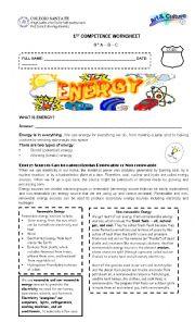 English Worksheet: Energy and Zheng He worksheet