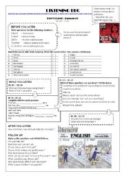 English Worksheet: Listening -Indirect questions