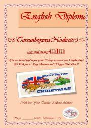English Worksheet: English Diploma