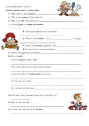 English Worksheet: Scavenger Hunt Project 4 Fourth Edition Oxford