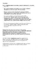 English Worksheet: INTO THE WILD / RESTAURANT SCENE