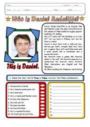 Daniel Radcliffe´s Biography