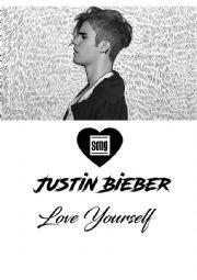 Justin Bieber - Love Yourself Song Worksheet