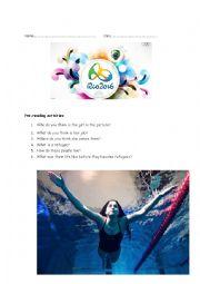 English Worksheet: The Rio Olymics Heroes