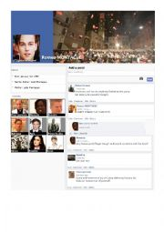 English Worksheet: Romeo and Juliet on Facebook part 2