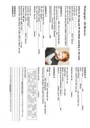English Worksheet: Photograph - Ed Sheeran - Missing words