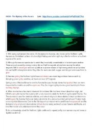 The Mystery of the Aurora