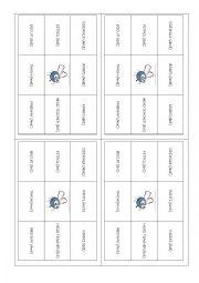English Worksheet: Fly