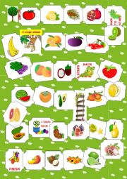Fruit boardgame