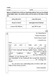 Writing Mahsuri Legend Esl Worksheet By Meow Syafiqa