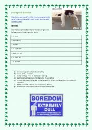 English Worksheet: Boredom - BBC 6 minute English CEF A2