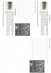 English Worksheet: Nightlife in Chicago - Cabaret - 1920s - Roaring twenties