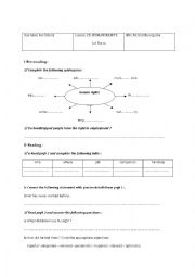 English Worksheet: lesson 25 Human Rights