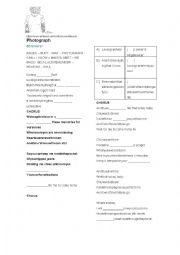 English Worksheet: Photograph - Ed Sheeran