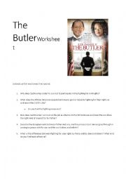 English Worksheet: The Butler - Worksheet