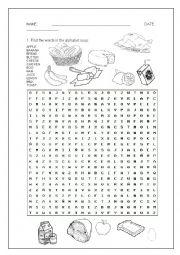english worksheets alphabet soup. Black Bedroom Furniture Sets. Home Design Ideas