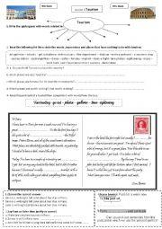 English Worksheet: tourism-lesson 3